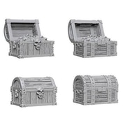 WizKids Unpainted Miniatures (W2) - Chests