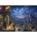 Thomas Kinkade Disney Beauty & the Beast 1000 Piece Jigsaw Puzzle - Image 2