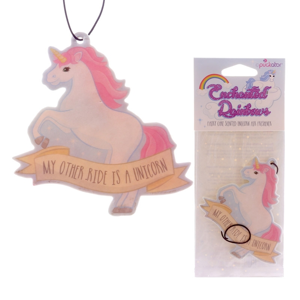Fairy Cake Fragranced Unicorn (Pack Of 6) Air Freshener