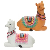 Alpaca (Pack Of 4) Figurines