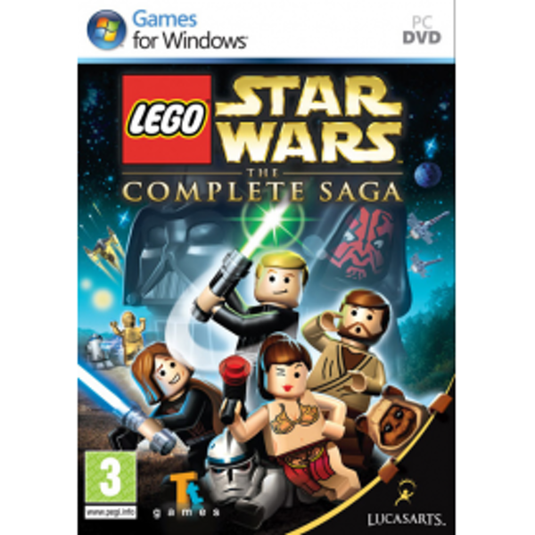 Lego Star Wars The Complete Saga Game PC