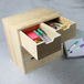 Mini Wooden Chest of 6 Drawers | Pukkr - Image 2