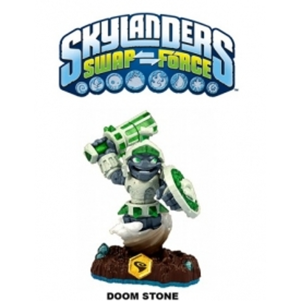 Doom Stone (Skylanders Swap Force) Swappable Earth Character Figure