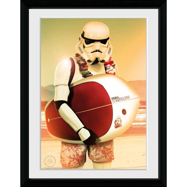 Original Stormtrooper Surf Collector Print