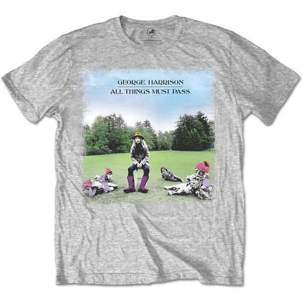 George Harrison - All things must pass Unisex Small T-Shirt - Grey