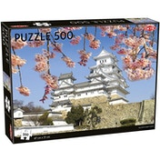 White Egret Castle 500 Piece Jigsaw Puzzle