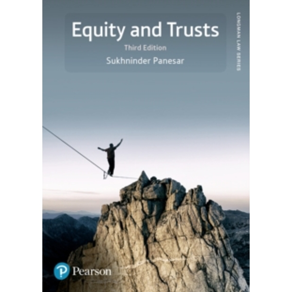 Equity and Trusts (Longman Law Series) Paperback