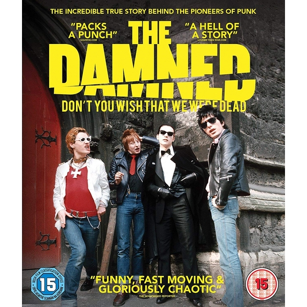 The Damned: Don't You Wish That We Were Dead Blu-ray