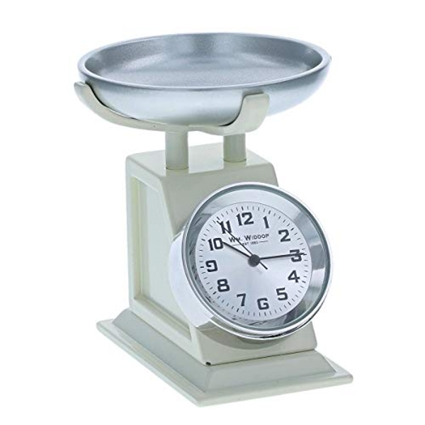 Miniature Clock - Weighing Scales