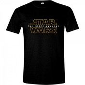 Star Wars VII Men's The Force Awakens Main Logo XX-Large T-Shirt