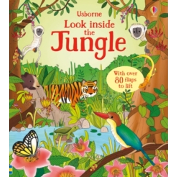Look Inside the Jungle by Minna Lacey (Board book, 2015)