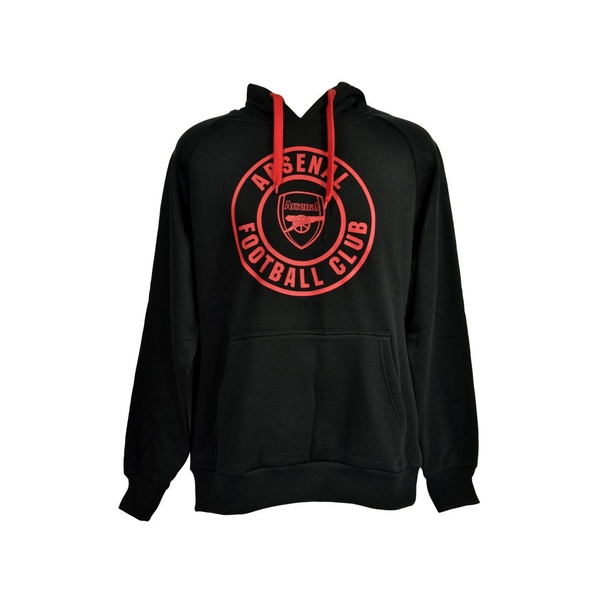 L Arsenal Crest 240g Hoody Black