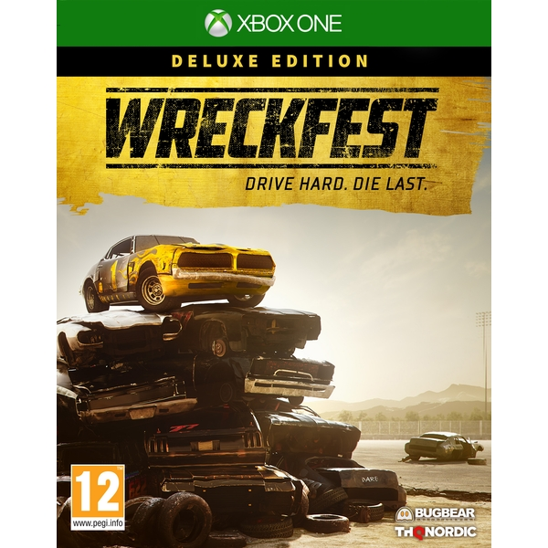 Wreckfest Deluxe Edition Xbox One Game