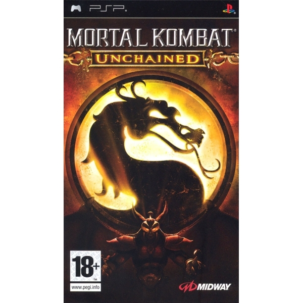 Mortal Kombat Unchained Game PSP