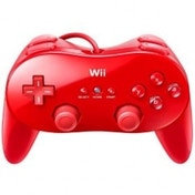 Ex-Display Official Nintendo Classic Controller Pro Red Wii & Wii U Used - Like New