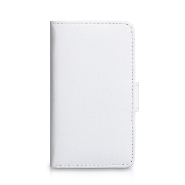 YouSave Accessories Sony Xperia E Leather-Effect Wallet Case - White - Image 3