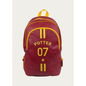 Harry Potter Quidditch Burgandy Yellow Backpack