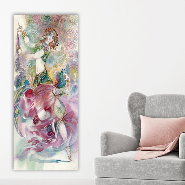 DKY133944_50120 Multicolor Decorative Canvas Painting