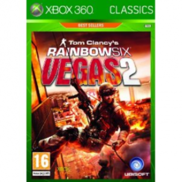 Tom Clancys Rainbow Six Vegas 2 Game Xbox 360