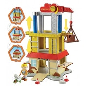 Ex-Display Bob the Builder Pop-Up Deluxe Construction Site Playset Used - Like New