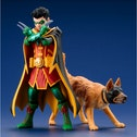 Robin and Ace the Bat Hound ArtFX+ Statue