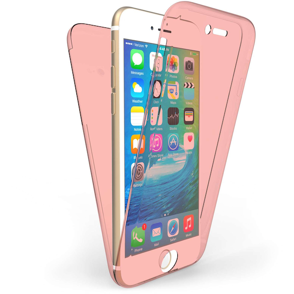 Compare prices with Phone Retailers Comaprison to buy a Apple iPhone 6/6S Full Body 360 TPU Gel Case - Rose Gold