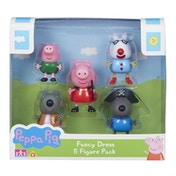 Peppa Pig Fancy Dress 5-Figure Pack