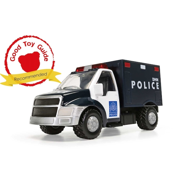 DHN Police Truck UK Chunkies Corgi Diecast Toy