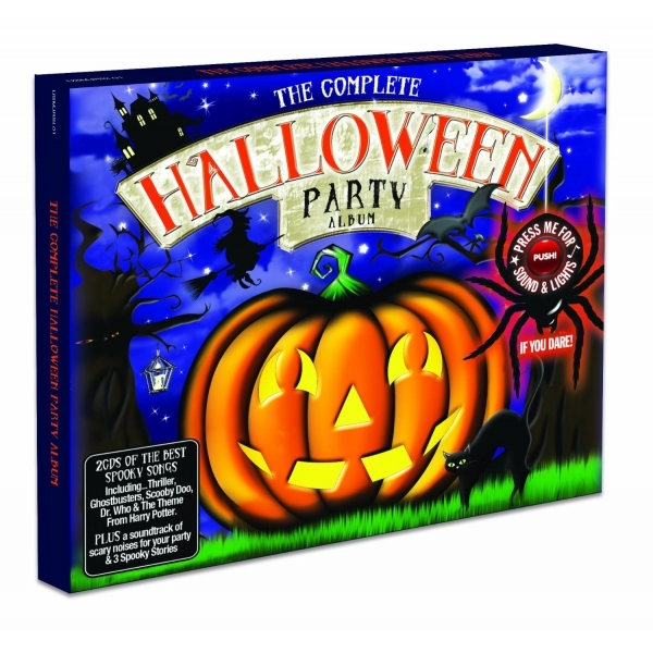 Various Artists - Complete Halloween Party Album  The CD