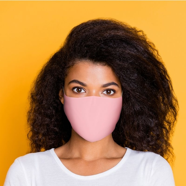 Pink Reusable Face Covering - Large