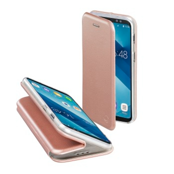 "Hama ""Bow"" Booklet for Samsung Galaxy A6 (2018), rose gold"