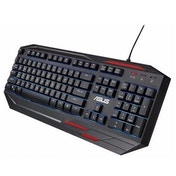 Asus SAGARIS GK100 Gaming Keyboard, 7 Colour LED Backlighting, 23 Anti Ghosting Keys