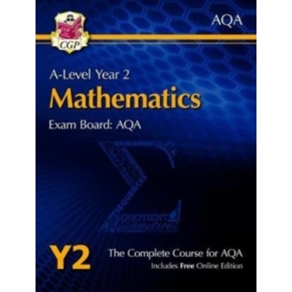 New A-Level Maths for AQA: Year 2 Student Book with Online Edition