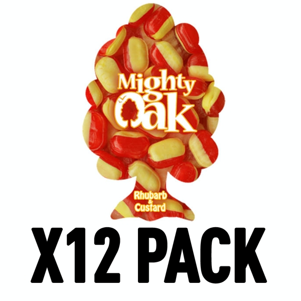 Rhubarb & Custard (Pack Of 12) Mighty Oak Air Freshener