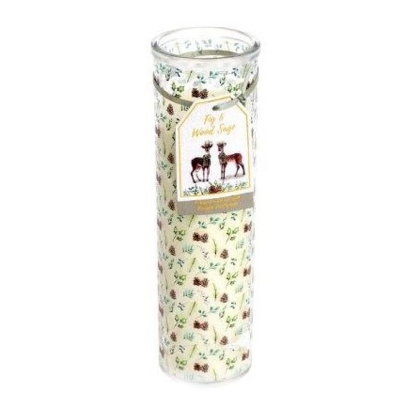 Fig And Wood Sage Candle Tube 20cm
