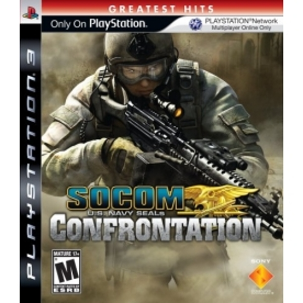 SOCOM Confrontation Solus Game PS3