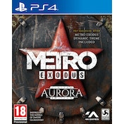 Metro Exodus Aurora Limited Edition PS4 Game + Sew-On Patch