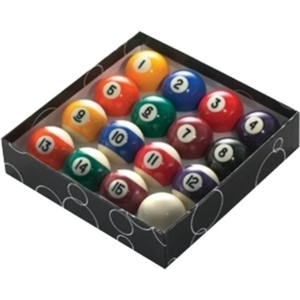 Powerglide Pool Balls Stripe - 2 1/4 Inches