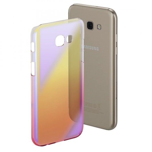 Hama Mirror Cover for Samsung Galaxy A5, Yellow/Pink