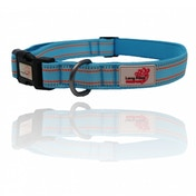Long Paws Blue Comfort Collection Padded Collar M