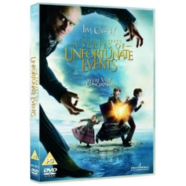 Lemony Snicket's A Series Of Unfortunate Events DVD