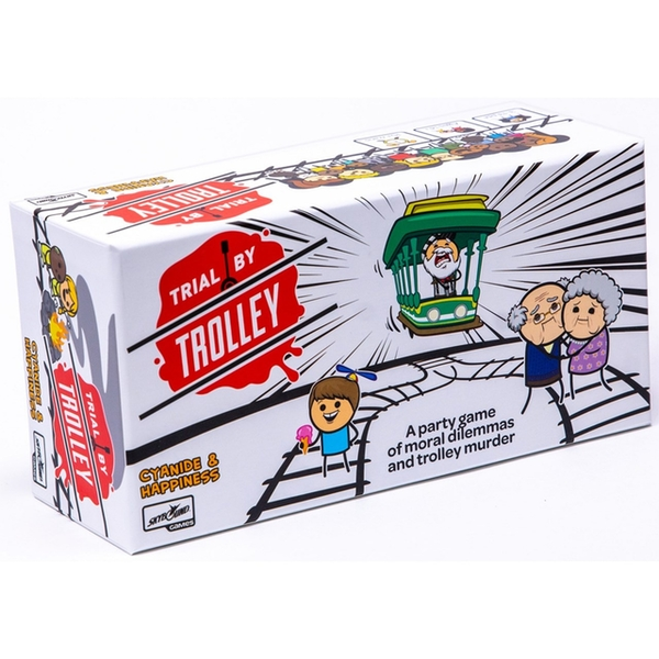 Cyanide and Happiness: Trial by Trolley Card Game