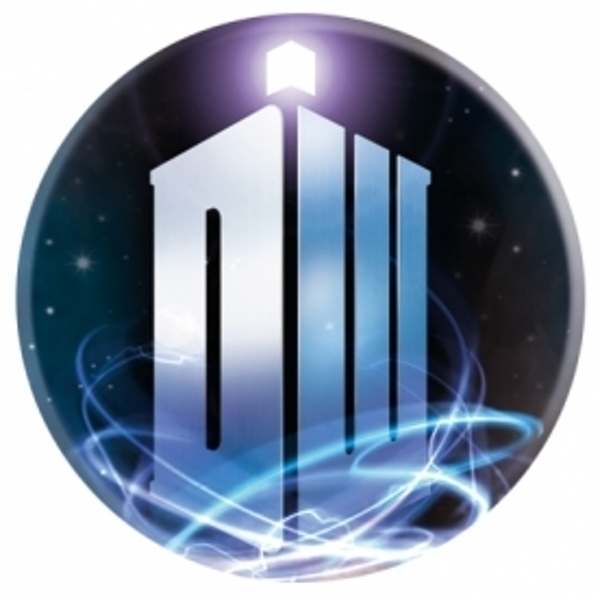 Doctor Who Logo Badge
