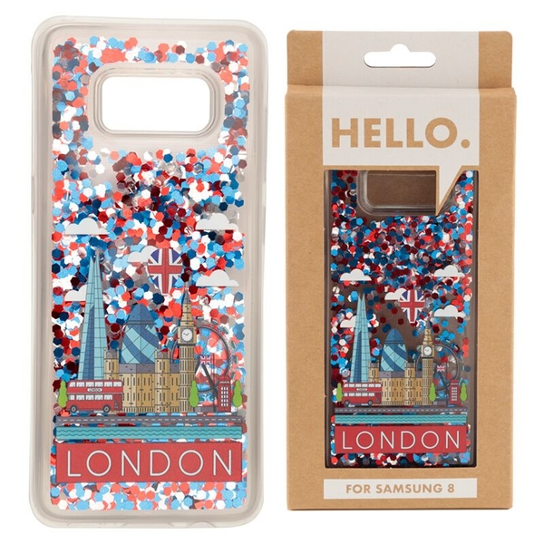 London Icons Design Samsung 8 Phone Case