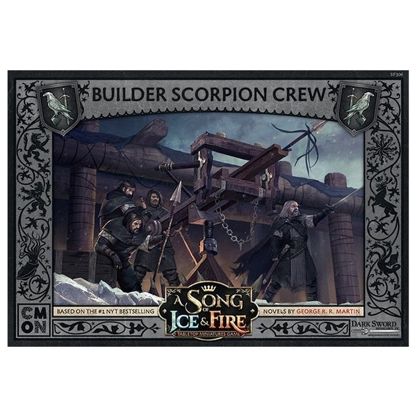 A Song Of Ice and Fire Expansion Night's Watch Builder Scorpion Crew