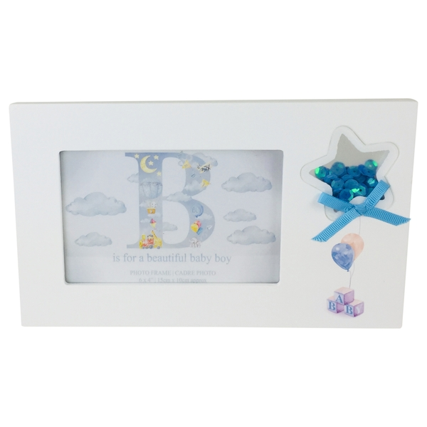 Blue Boy Picture Frame