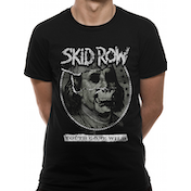 Skid Row - Youth Gone Wild Men's Small T-Shirt - Black