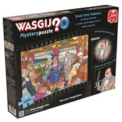 Wasgij Mystery 9 Great Train Robbery 1000 Piece Jigsaw Puzzle