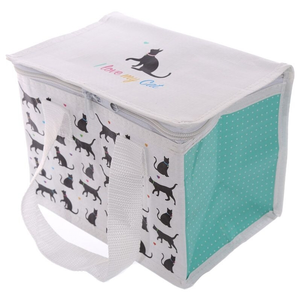I Love My Cat Design Lunch Box Cool Bag