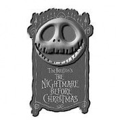 Nightmare Before Christmas Jack Head - Door Knocker